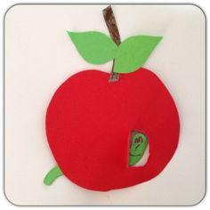 knutselen met kinderen, knutseltip, knutselidee, knutselen herfst, knutsel appel