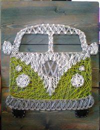 Die schönsten Bastelideen, inspiriert vom berühmten Volkswagen Bus! - Seite 6 von 10 - DIY Bastelideen