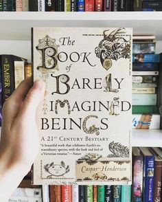 The Book of Barely Imagined Beings - 19 Fascinating Books That'll Teach You Something Every Damn Day I Love Books, Great Books, Books To Read, Best Art Books, Books To Buy, Reading Lists, Book Lists, Reading Books, Up Book