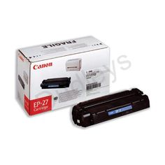 Canon EP-27 (Black) Toner Cartridge (Yield 2,500 Pages)