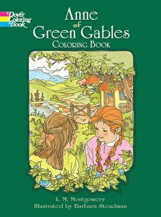 Children will love to color scenes of Anne's arrival at Green Gables, her classroom scuffle with a rather opinionated young boy, her perilous journey in a leaky boat, and much more. 24 illustrations.