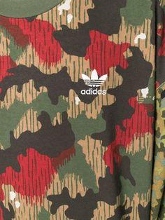f67805b43c456 Adidas By Pharrell Williams HU Hiking Camouflage Sweatshirt - Farfetch