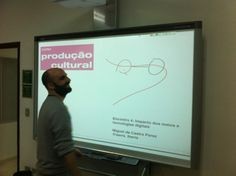 Encontro com Miguel de Castro Perez: impacto dos meios e tecnologias digitais na produção cultural. Curso Produção Cultural Projecta + Palco de Papel - Edição 2013