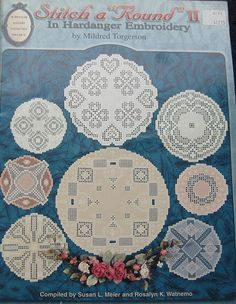 Stitch A Round 2 Hardanger Embroidery Pattern by TheHowlingHag, $9.95