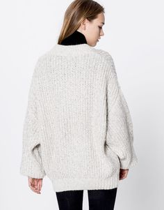 Jersey oversized - Promociones - Mujer - PULL&BEAR España