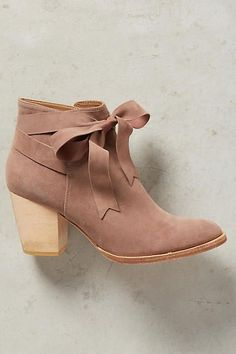 Huma Blanco Bowtie Booties - anthropologie.com http://amzn.to/2up0SVh