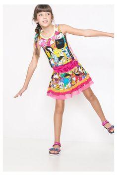 Falda de Hora de Aventuras para niña | Desigual.com B