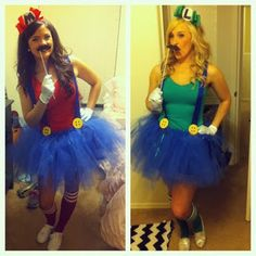 These would actually be super easy and awesome to make. Yay for slutting up Mario and Luigi!!