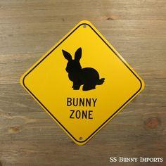 pet rabbit novelty sign, aluminum, glossy black on caution yellow House Rabbit, Pet Rabbit, Rabbit Food, Animals And Pets, Cute Animals, Pet Insurance Reviews, Somebunny Loves You, Bunny Room, Bunny Hutch