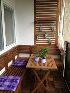Balkon Sitzecke
