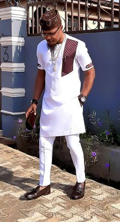 African men ankara styles and designs - DarlingNaija Latest African Men Fashion, Latest African Wear For Men, African Shirts For Men, African Dresses Men, Nigerian Men Fashion, African Attire For Men, African Clothing For Men, Couples African Outfits, African Men Style