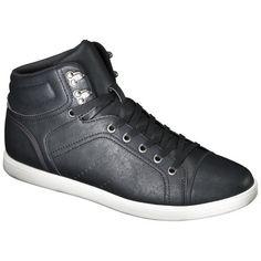 Men's Mossimo Supply Co. Eli Hightop Sneakers - Black