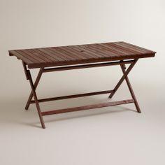 Rectangular Mika Table | World Market $150.00