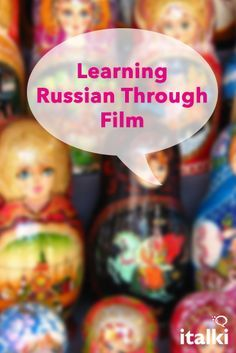 Learning Russian Through Film - It's no secret that when you're bored of textbooks and grammar exercises, it's high time to close your weighty volumes and switch on the TV to watch some Russian films--and to master your Russian. #article #russian