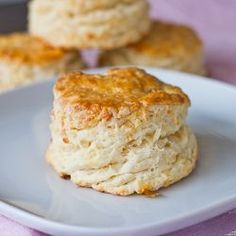 Fluffy Mozzarella Biscuits - buttery, cheesey layers make for this perfect biscuit.