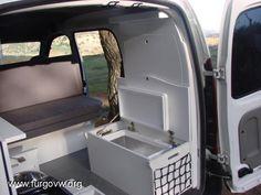 [RENAULT Kangoo] POR FIN TERMINE MI FURGO A VER QUE OS PARECE Mini Camper, Camper Van, Van Life, Kangoo Camper, Vw Caddy Maxi, Sprinter Conversion, Vw T4, Van Interior, Van Living