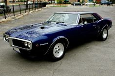 One of the most bad ass Detroit Muscle Cars was the 1967 Pontiac Firebird..Sleek lines,small car, big motor! The guys from the Discovery TV ...