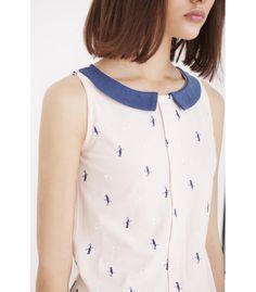 Camiseta rosa vintage de algodón orgánico - Comercio Justo