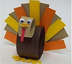 Thanksgiving turkey crafts for kids, toddlers, preschoolers, kindergarten, adults to make.  60+ easy, turkey crafts ideas using paper bag, coffee filter, tp rolls, feathers, leaves, pine cones, pipe c