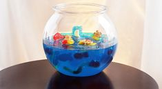 Jelly Gummy Fish Bowl