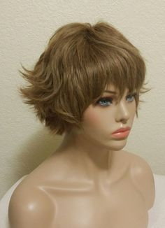 100% Human Vintage Wig Hair Piece Brown Genuine #1162  | eBay Short Wigs, Hair Pieces, Cap, Thinning Hair, Brown, Classic, Vintage, Baseball Hat, Derby