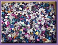 Rocks and Tumblers at Lakeside Gems in Bancroft, Ontario