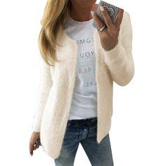 New Cardigan Women 2017 Spring Autumn Long Sleeve Sweater Women's Top Cardigan Outerwear Sweater #Liva girl #sweaters #women_clothing #stylish_sweater #style #fashion
