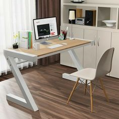 Office Table Design, Office Space Design, Office Furniture Design, Home Office Setup, Home Office Space, Home Office Desks, Home Decor Furniture, Welded Furniture, Industrial Design Furniture