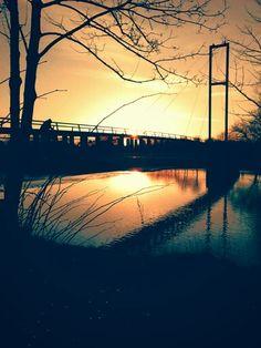 Sunset over blackwier.