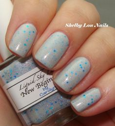 Liquid Sky Lacquer New Beginnings from Llarowe's A Box, Indied for January 2013