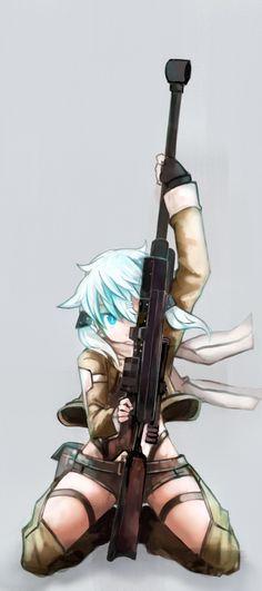 ảnh anime và ảnh wallpaper đẹp chap 14-Shino Asada trong GGO   Blog truyện tranh trên mobile   Blog truyện tranh trên mobile