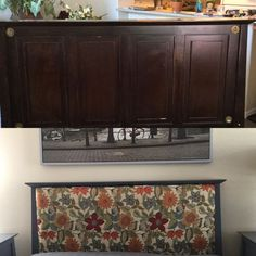 This headboard makeover changed her entire bedroom