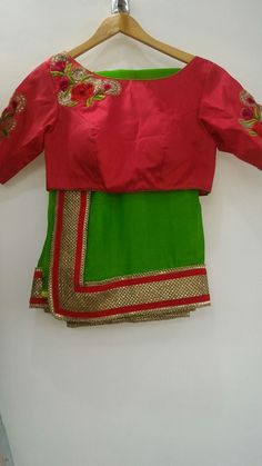 05 July 2016 Indian Blouse, Sari Blouse, Indian Sarees, Blouse Patterns, Blouse Designs, Beautiful Blouses, Beautiful Dresses, Rajasthani Dress, Indian Fashion