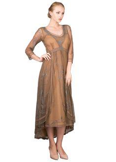 Downton Abbey Vintage Wedding Dress by Nataya | Second Wedding Dresses | Mother of the Bride Dresses - wardrobeshop.com