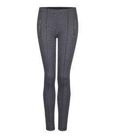 Charcoal Houndstooth Leggings #zulily #zulilyfinds
