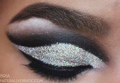 Glittery lids