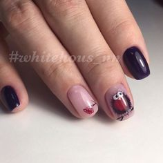 The young girls like to draw some funny animals or birds on the nails. So such manicure, which the nail ...