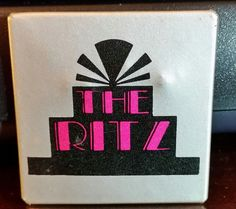 #Ritz Rock and Roll Pin  #Dallas Night Club TEXAS #1983 Old Circle Theater