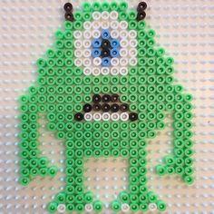 Monsters Inc Mike hama perler by jifode