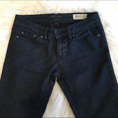 "Dark wash Limited edition Gap jeans 2R Gap dark denim denim jeans, size 2R in excellent condition. Inseam (from crotch down to bottom) measures 32"". GAP Jeans Straight Leg"