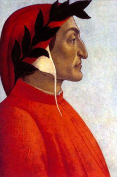 """Dante Alighieri - born in Florence in the year of He is regarded as one of the most significant Italian poets and also one of the most brilliant writers of ancient European medieval times Author of """"La divina Commedia"""" (""""The Divine Comedy"""") Dante Alighieri, Renaissance, 21st Century Fox, Dantes Inferno, Late Middle Ages, Writers And Poets, Learning Italian, After Life, Medieval Times"""