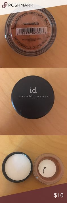 Bare Minerals Warmth Never been used! bareMinerals Makeup Face Powder