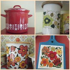 image 60s kitchen patterns - Google Search
