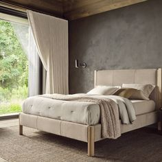 Fall Bedroom: In Living Harmony – Maiden Home Fall Bedroom, Bedroom Inspo, Home Bedroom, Master Bedroom, Bedroom Decor, Bedrooms, New Wall, Cozy House, My Dream Home