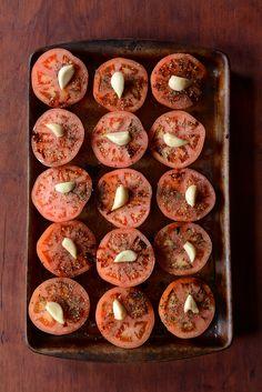 Slow Roasted Tomato, Garlic & Herb Sauce