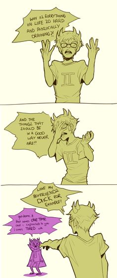Homestuck - Eridan and Sollux XD (I dont ship it but ok)