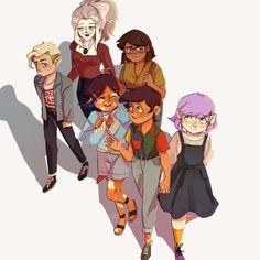 Cartoon Shows, Cartoon Art, House Season 2, Art Jokes, Imagenes My Little Pony, Owl House, Family Outing, Cute Gay, Cute Disney