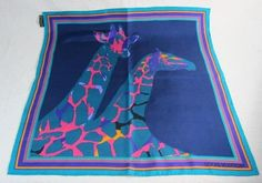 Louis Vuitton giraffe scarf