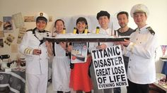 another crew who built their own Titanic