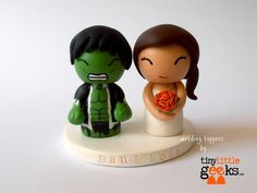 Awesome Wedding Cake Toppers for TV and Film Buffs - The Avengers cake topper